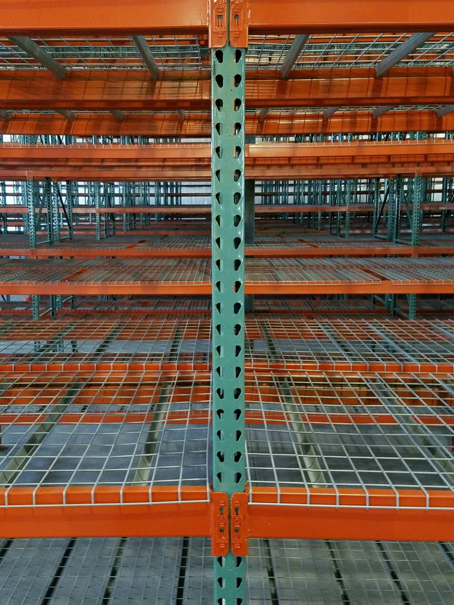 Wire Decking For Racks | Used Wire Decking 48 D X 46 W Upr