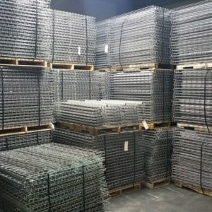 Used Wire Decks and Double Waterfall Wire Mesh Decks